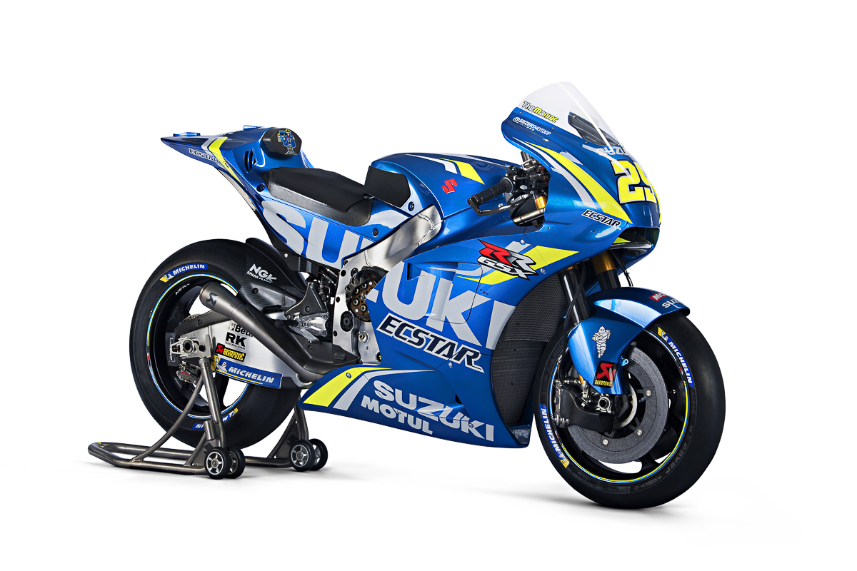 2018 suzuki gsx r1000 motogp replica unveiled bikesrepublic. Black Bedroom Furniture Sets. Home Design Ideas