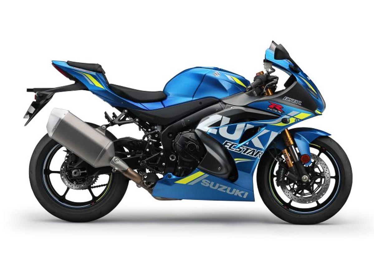 2018 suzuki gsx r1000 motogp replica unveiled bikesrepublic. Black Bedroom Furniture Sets. Home Design Ideas