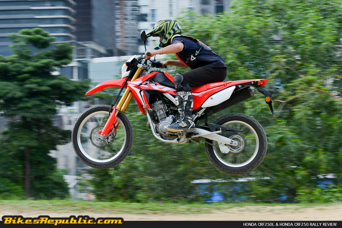 Honda Crf250l Crf250 Rally Test Review Bikesrepublic
