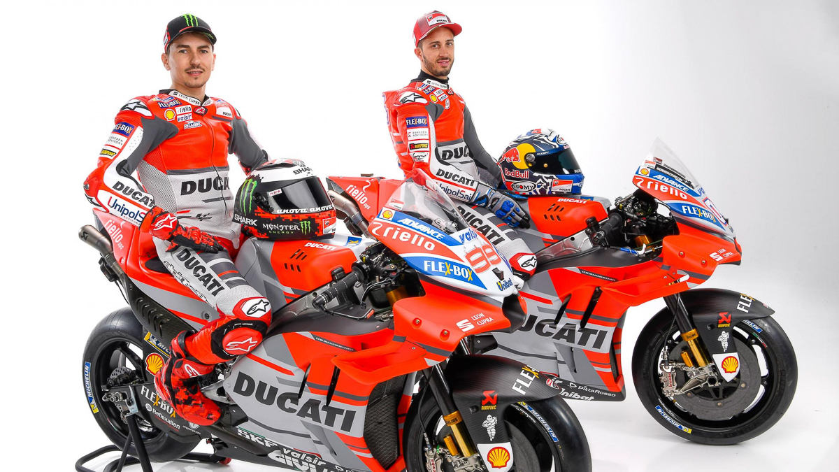 Motogp Ducati Desmosedici Gp18 Unveiled With New Livery Bikesrepublic