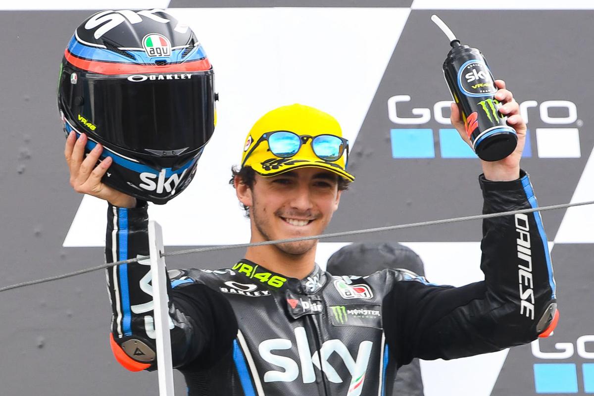 Motogp Francesco Bagnaia Will Join Pramac Ducati In 2019 Bikesrepublic