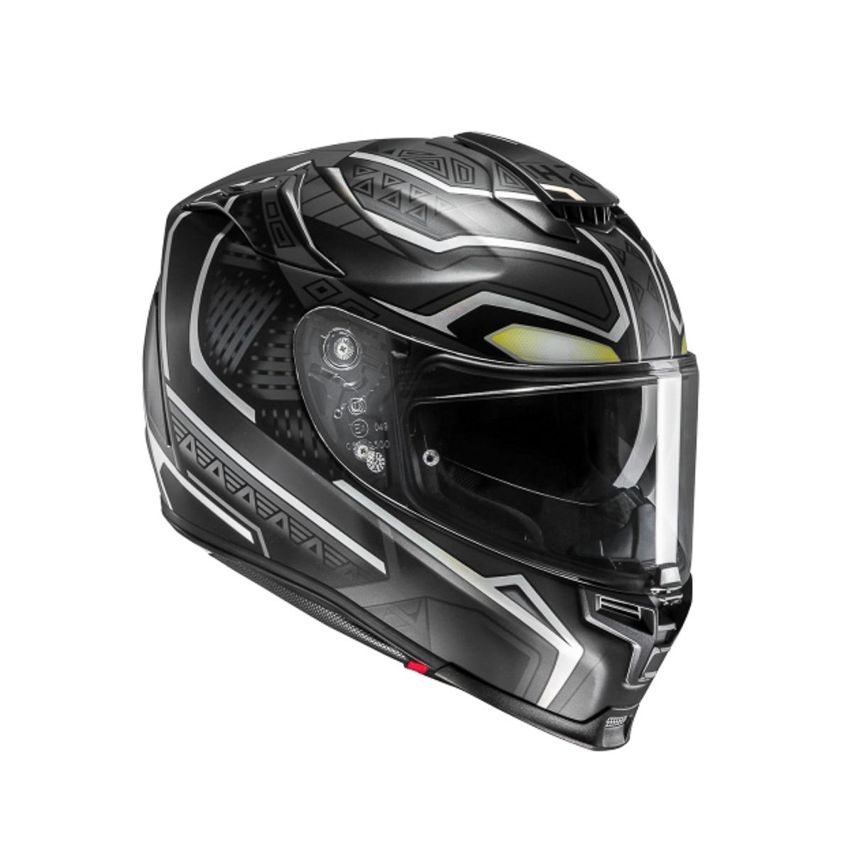 hjc introduces latest rpha 70 black panther helmet. Black Bedroom Furniture Sets. Home Design Ideas