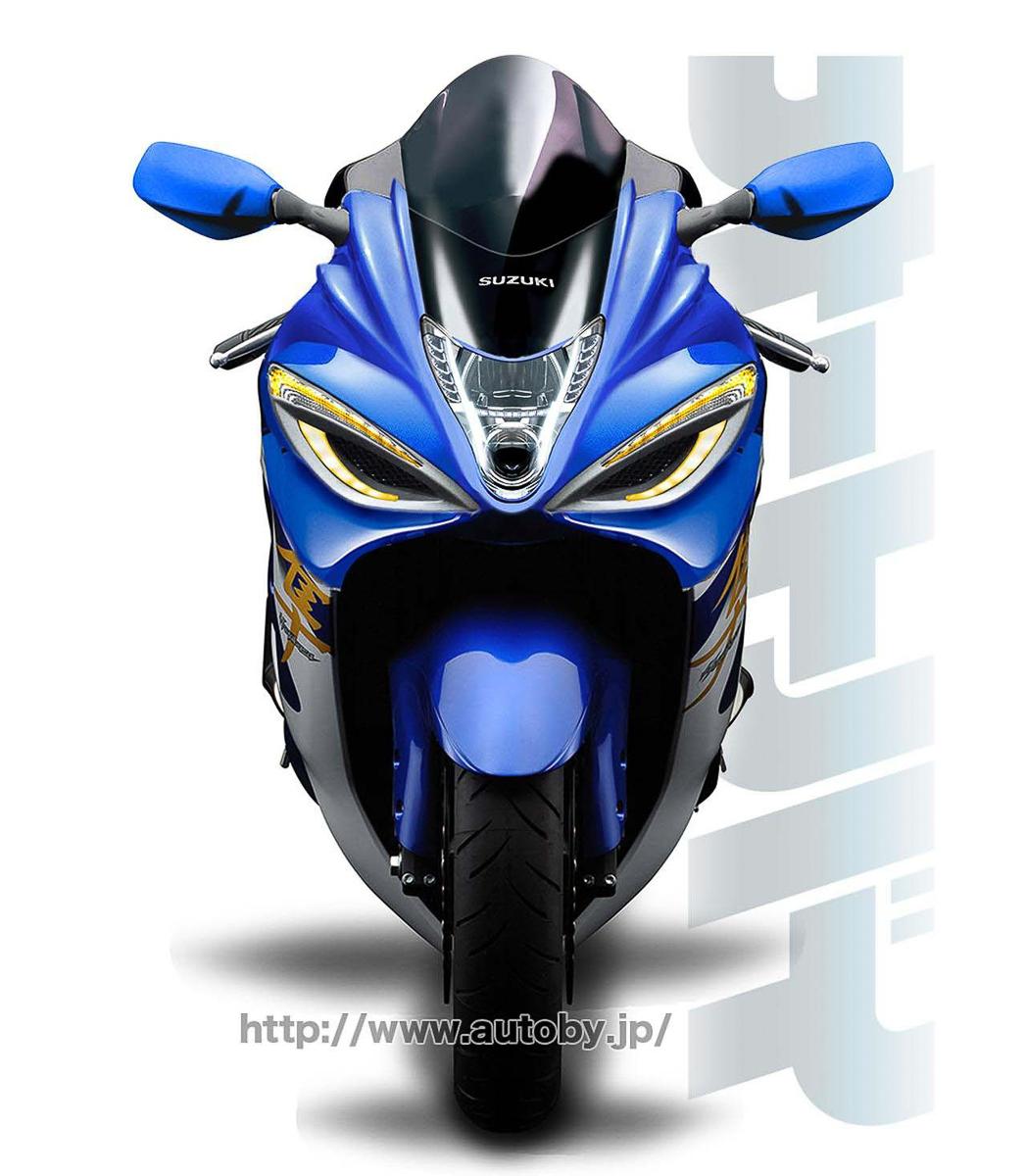 2019 Suzuki Hayabusa Will Run A 1440cc Engine Bikesrepublic