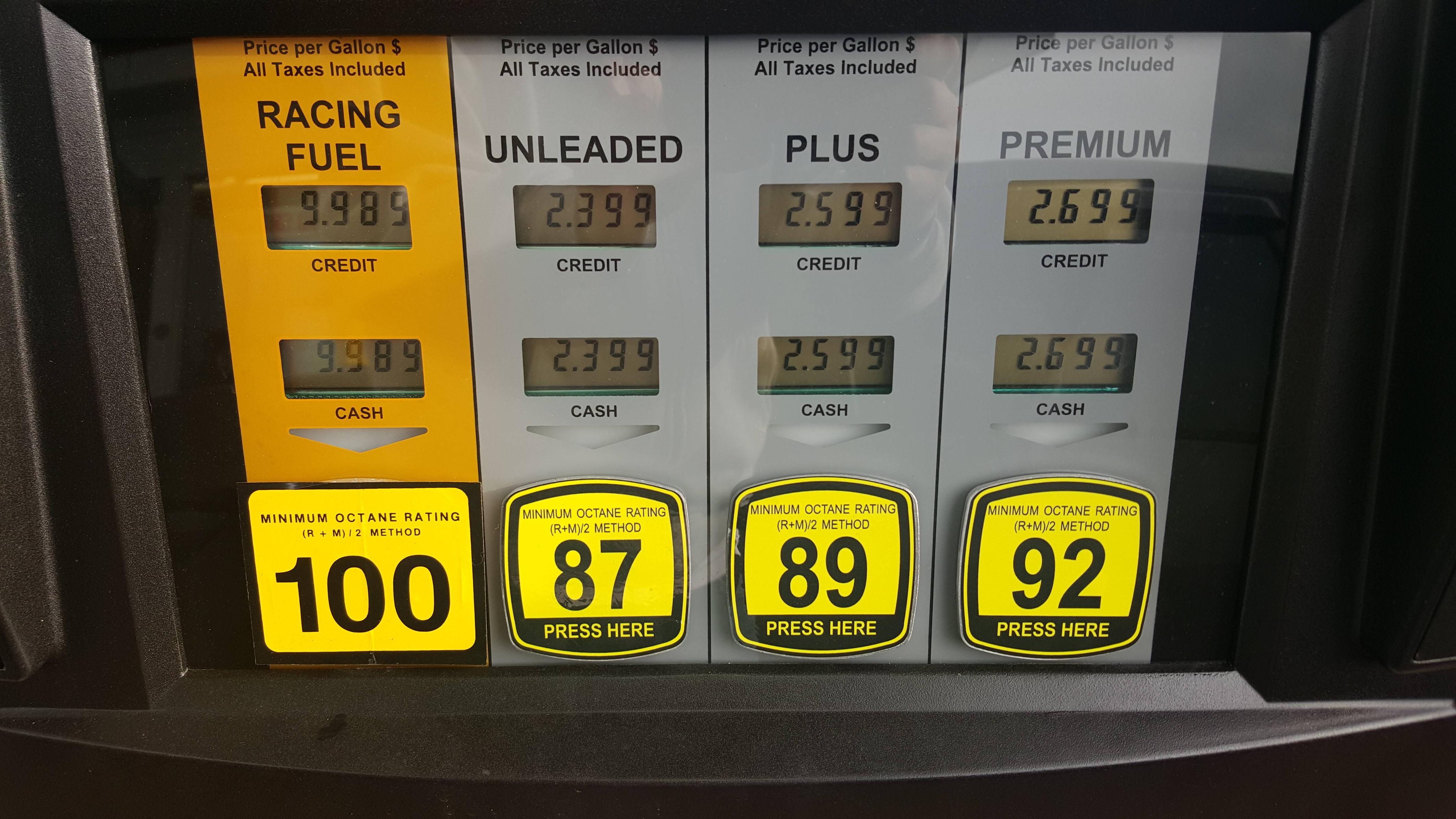 E85 Gas Stations Near Me >> Octane: What it Truly Means (Part 2) - BikesRepublic