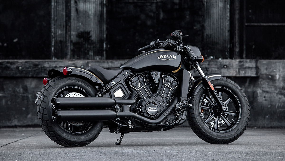 69ec1b6c160db 2018 Jack Daniel's Limited Edition Indian Scout Bobber unveiled ...