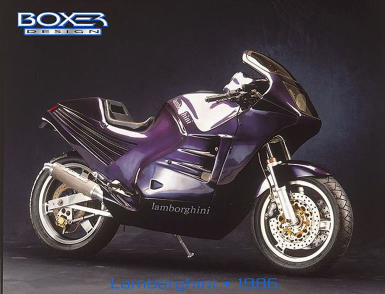 No Takers For Rare Lamborghini Design 90 Motorcycle Bikesrepublic
