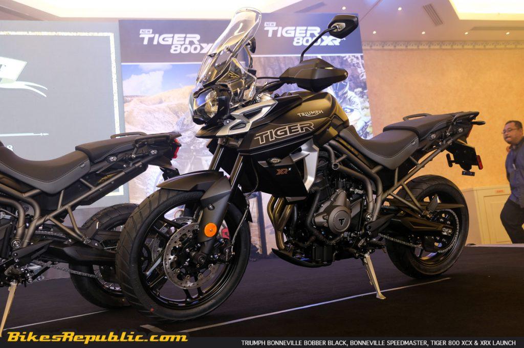 2018 Triumph Tiger 800 Xrx Test Review Bikesrepublic