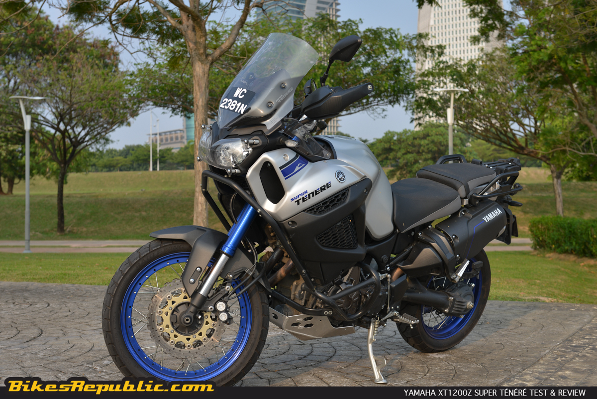 yamaha xt1200z super t n r 2015 test review. Black Bedroom Furniture Sets. Home Design Ideas