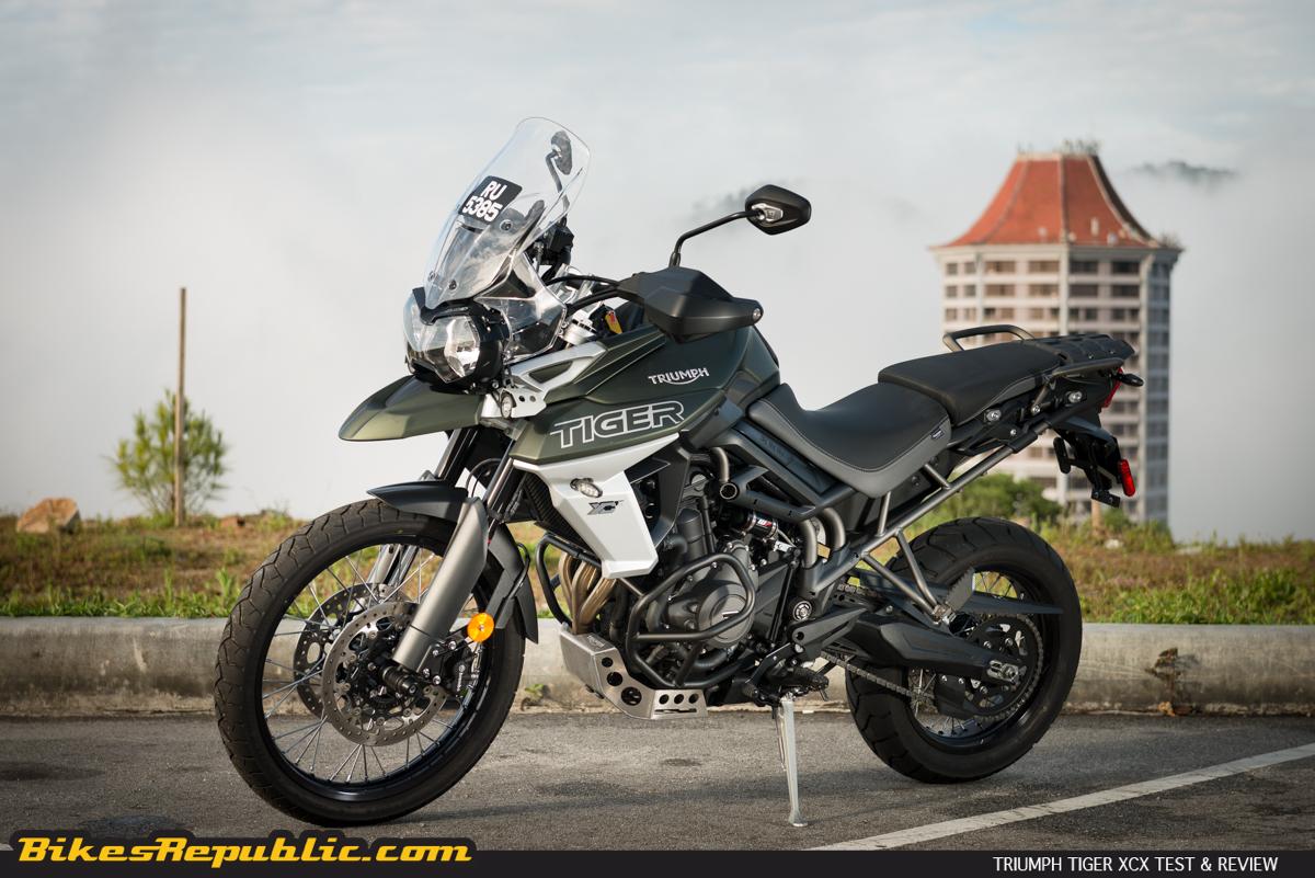Triumph Tiger 800 >> 2018 Triumph Tiger 800 Xcx Test And Review Bikesrepublic