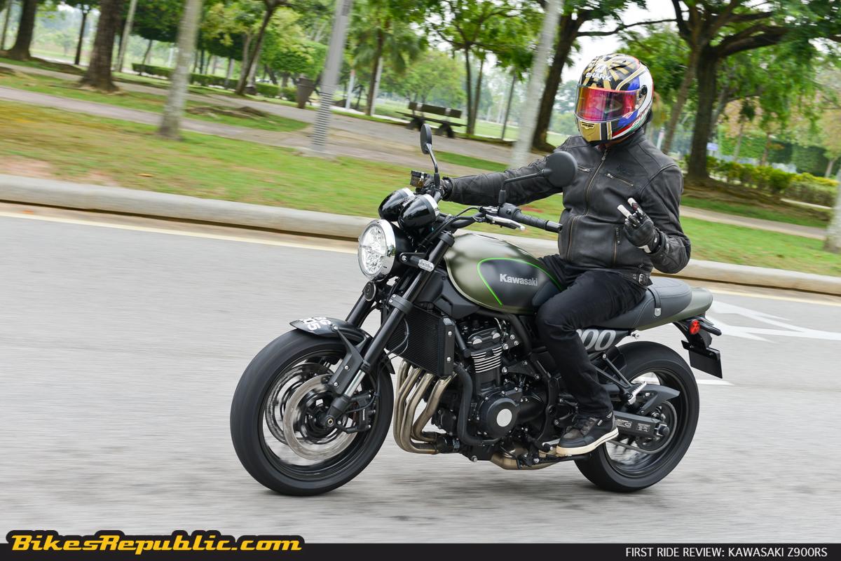First Ride Kawasaki Z900rs Bikesrepublic