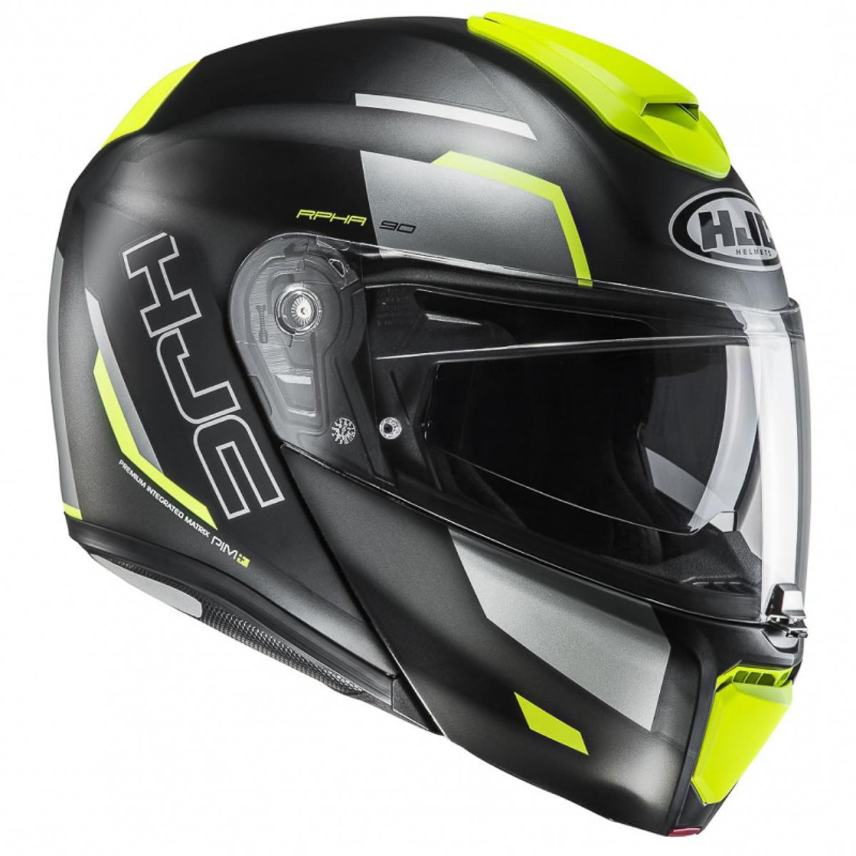 2018 hjc rpha 90 modular helmet introduced bikesrepublic. Black Bedroom Furniture Sets. Home Design Ideas