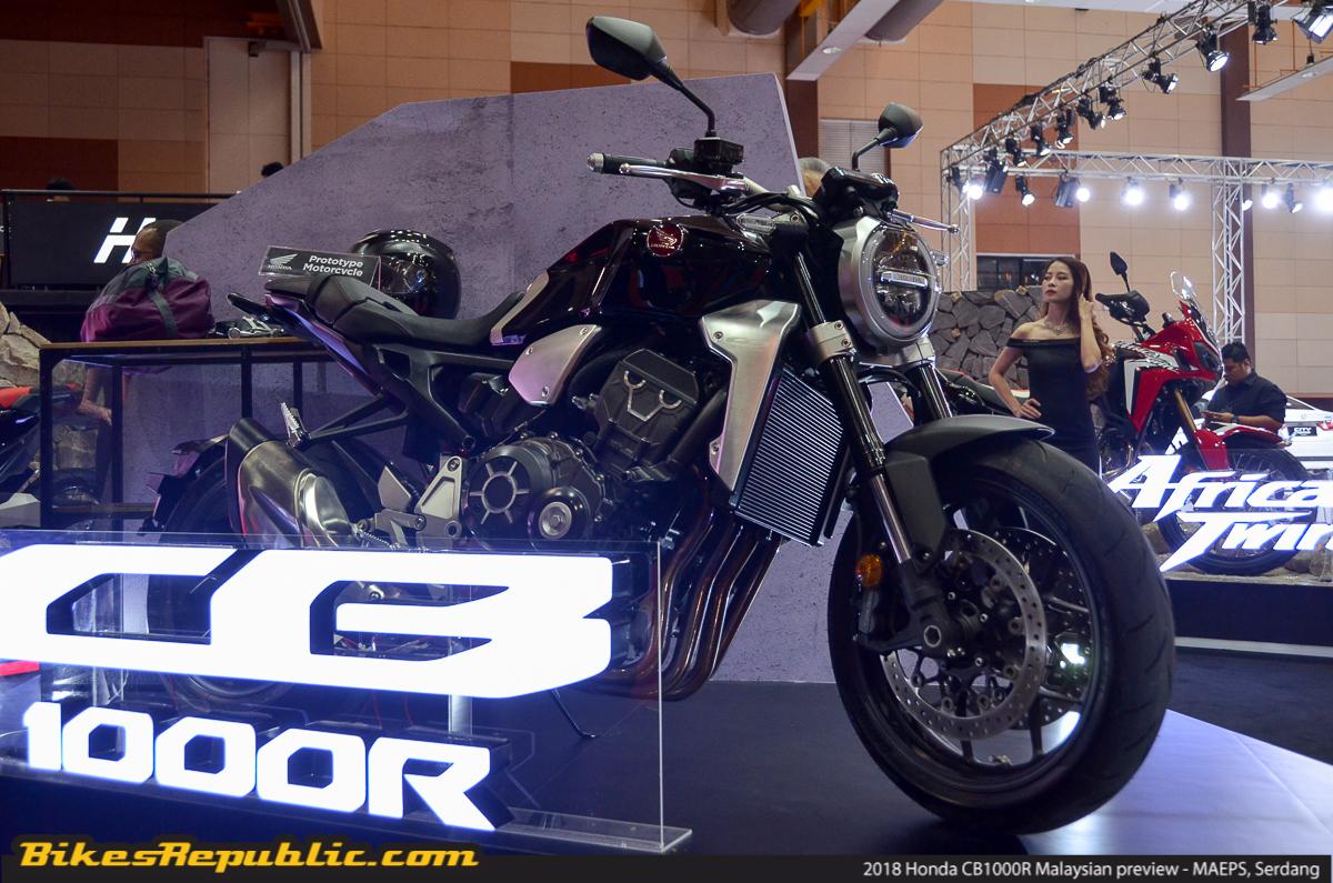 Boon Siew Honda Previews 2018 Honda Cb1000r Rm80000 Bikesrepublic