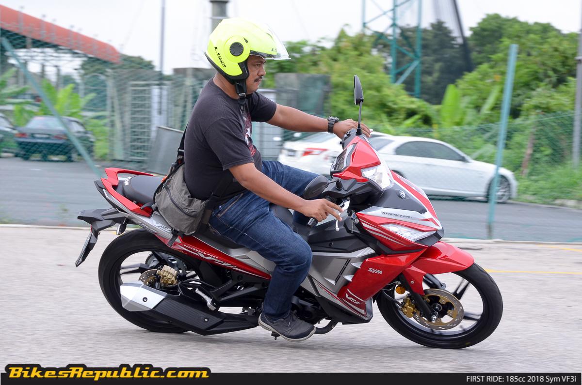 FIRST RIDE: 185cc 2018 Sym VF3i - BikesRepublic
