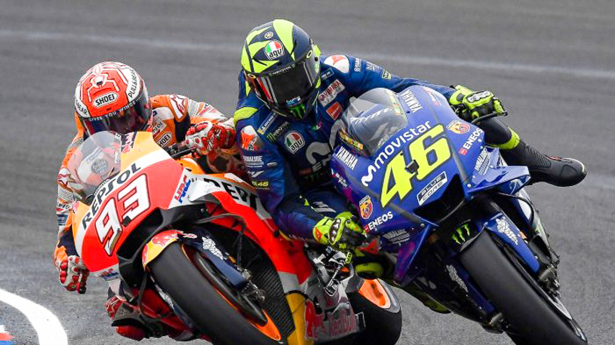 Marquez Is Destroying Motogp Valentino Rossi Bikesrepublic