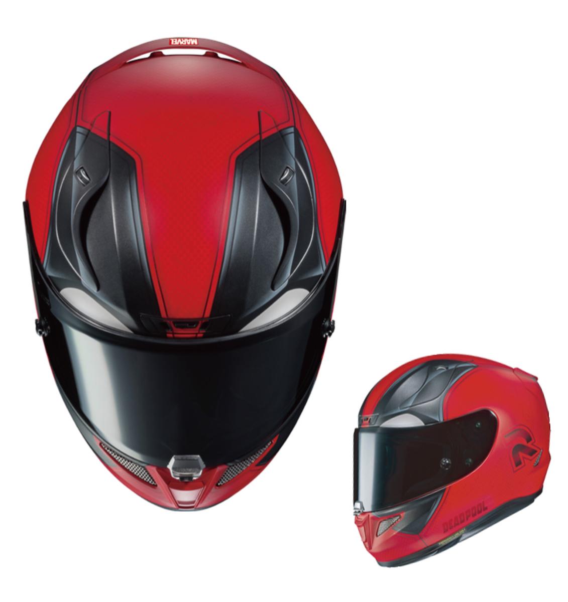 check out the new 2018 hjc rpha 11 deadpool helmet. Black Bedroom Furniture Sets. Home Design Ideas