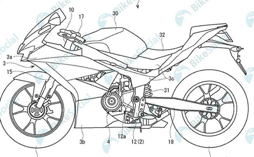 Suzuki Gsx R300 Patents Leaked