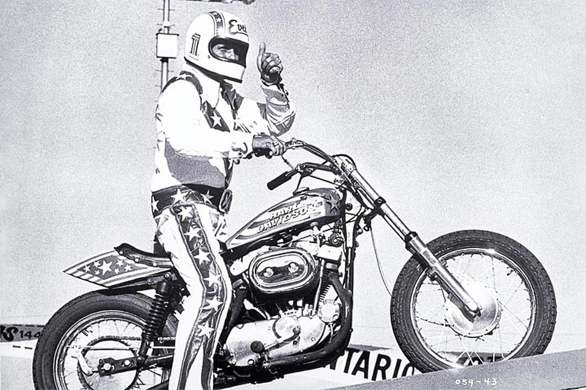 Famous Evel Knievel Bike At Auction: Travis Pastrana Is Going To Jump Over 52 Cars, 16 Buses