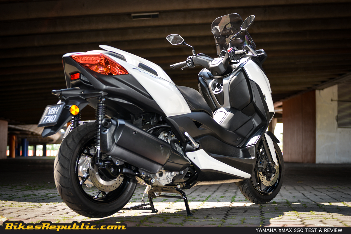 2018 Yamaha XMAX 250 Test & Review - BikesRepublic
