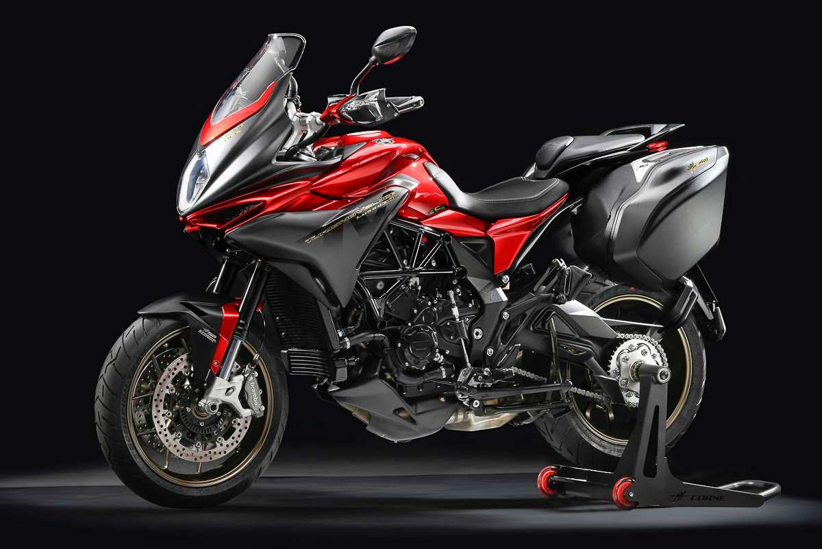 2018 MV Agusta Turismo Veloce Lusso SCS Has An AUTOMATIC