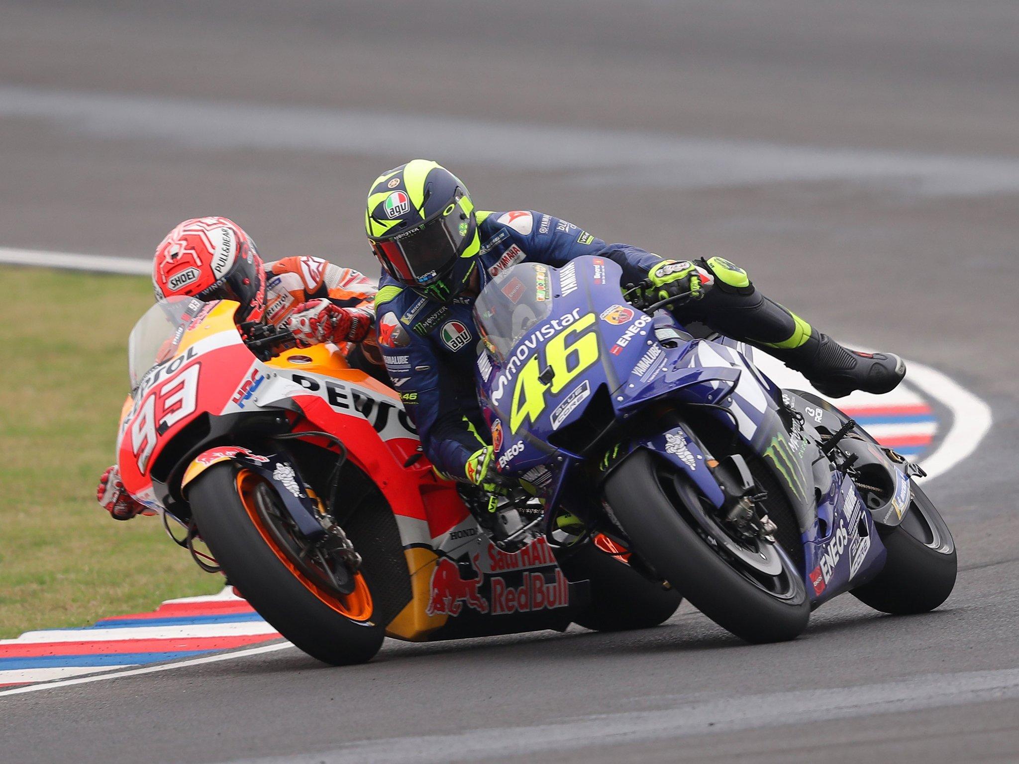 racing rossi marquez motorcycle part vs ten rivalries fiercest moto gp famous