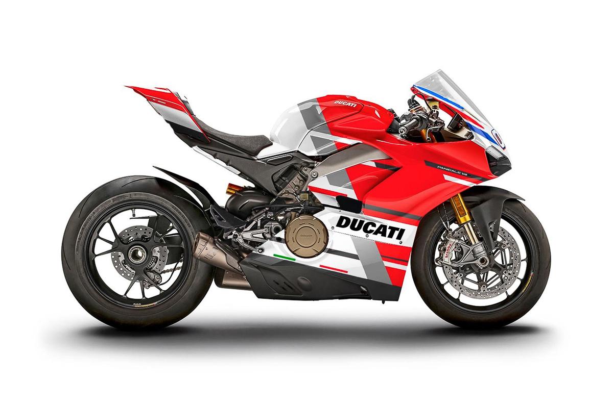 12 Ducati Panigale V4 S race livery bikes up for auction! - BikesRepublic