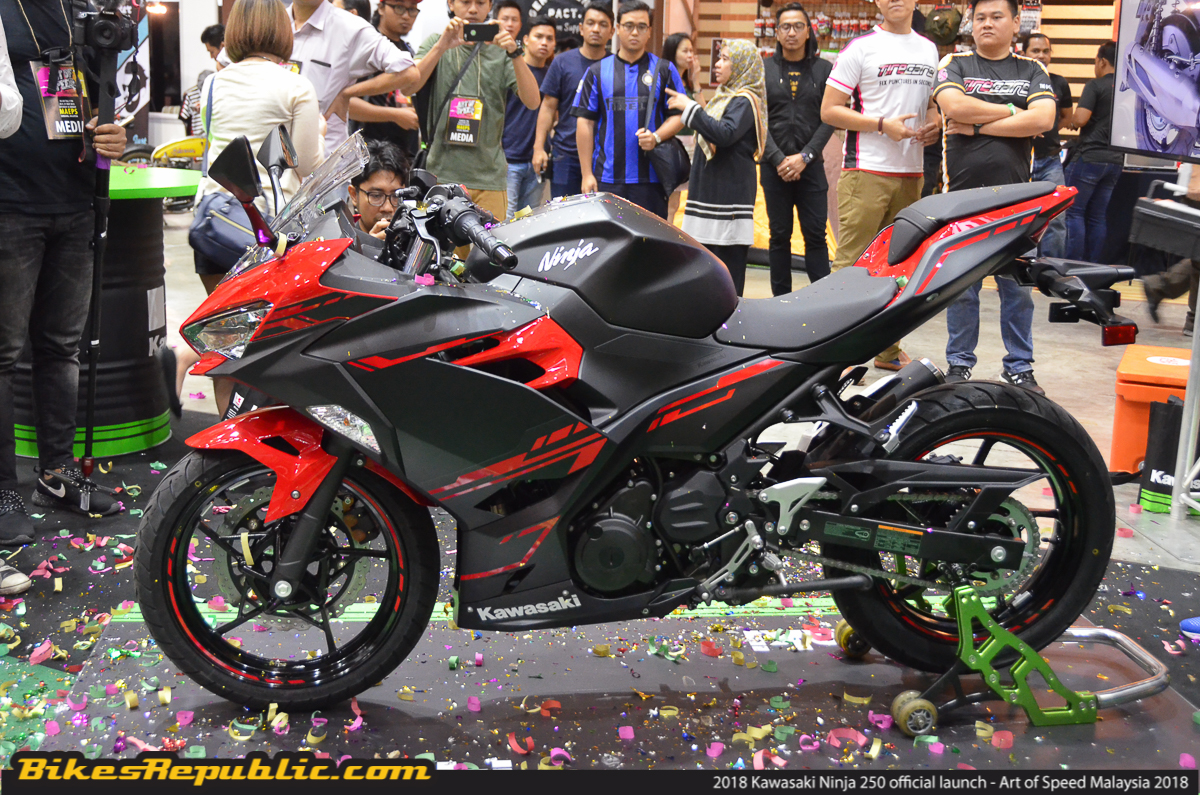 2018 Kawasaki Ninja 250 Official Launched At Aos 2018 Rm23000