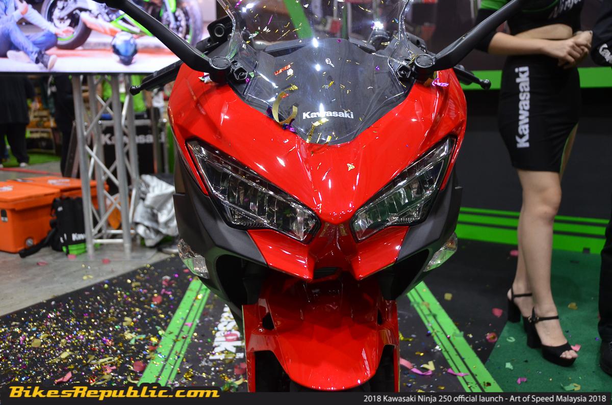 2018 Kawasaki Ninja 250 Official Launched At Aos 2018 Rm23000