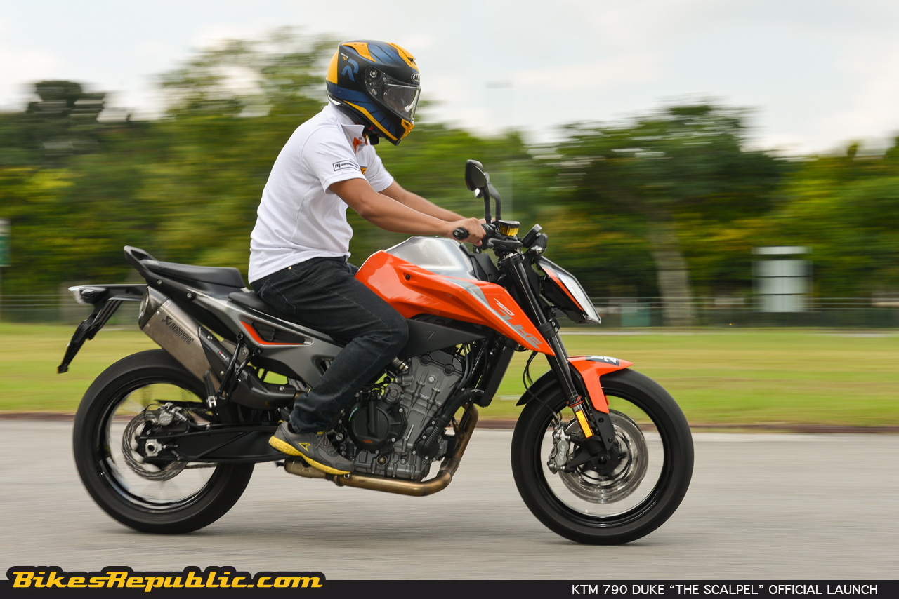 2018 ktm 790 duke the scalpel officially launched bikesrepublic. Black Bedroom Furniture Sets. Home Design Ideas