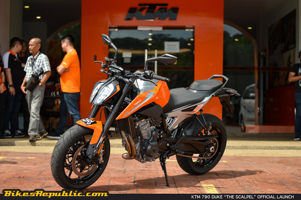 2018 ktm 790 duke the scalpel officially launched. Black Bedroom Furniture Sets. Home Design Ideas