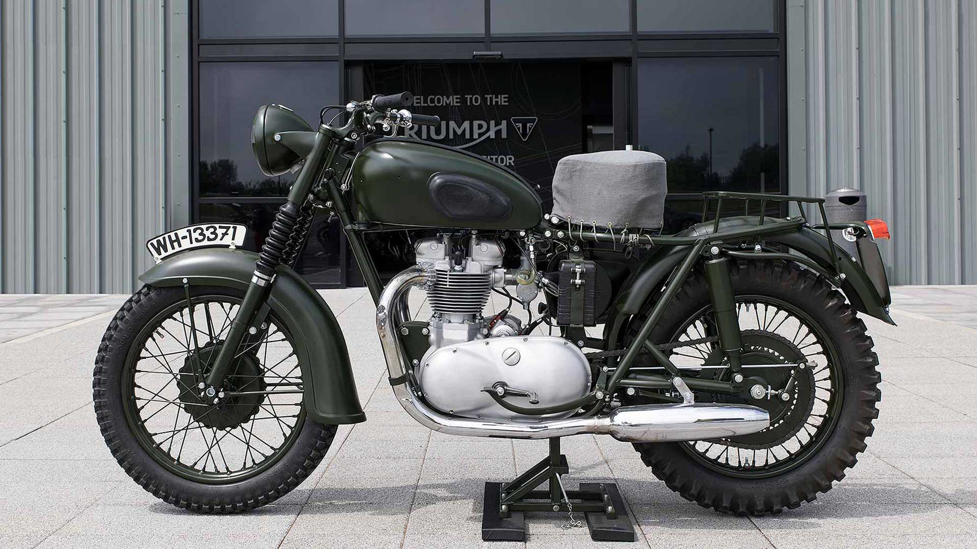 Triumph Tr6 Trophy From The Great Escape On Display Bikesrepublic