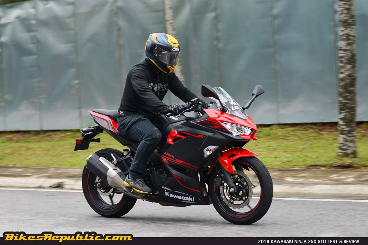2018 Kawasaki Ninja 250 Test Review Little Red Chili