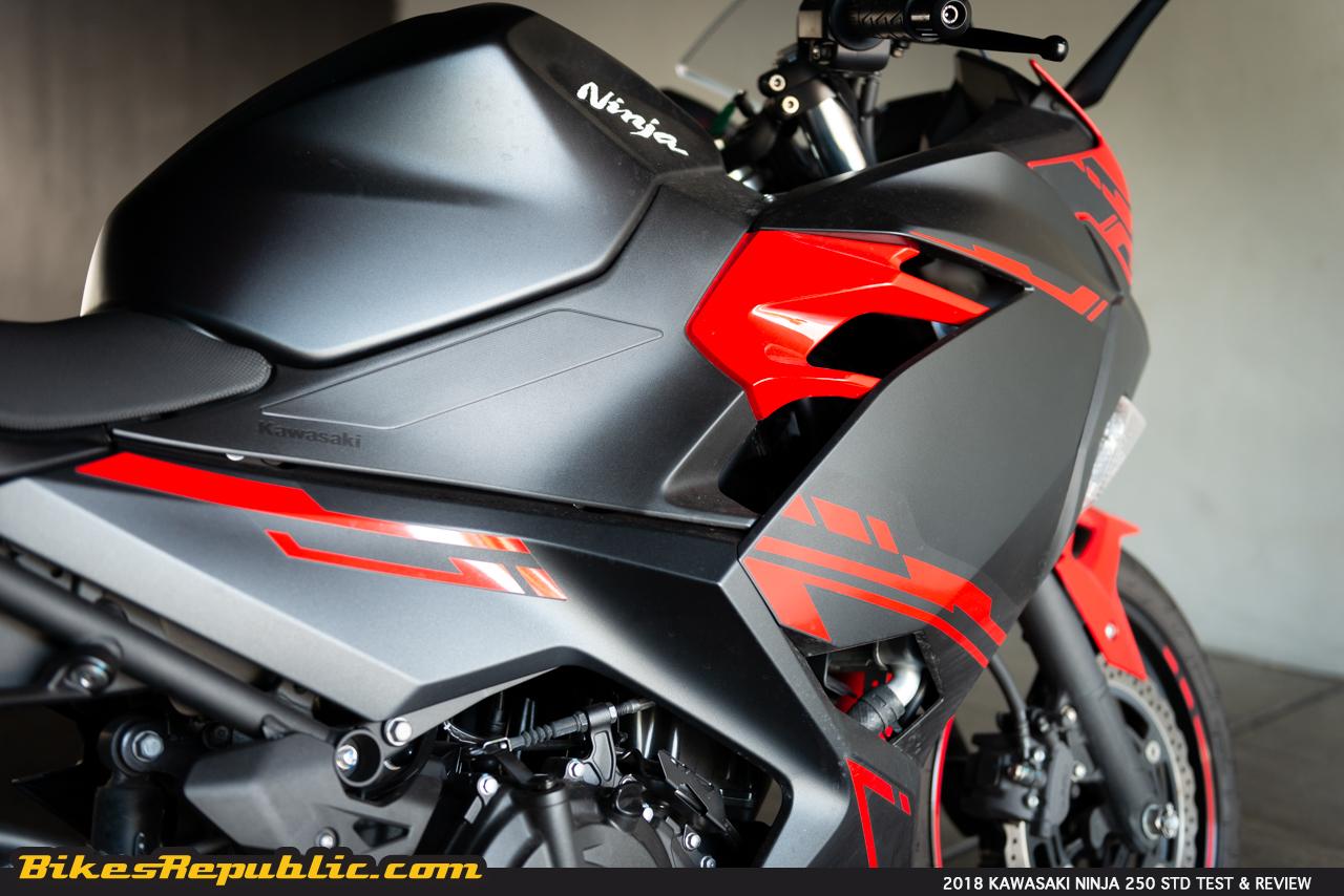 "2018 Kawasaki Ninja 250 Test & Review – ""Little Red Chili"