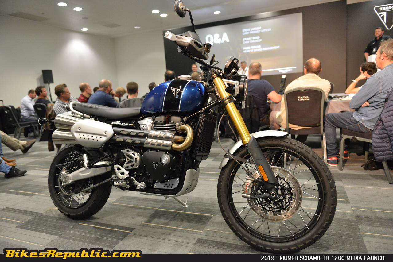 2019 Triumph Scrambler 1200 First Look Review Bikesrepublic