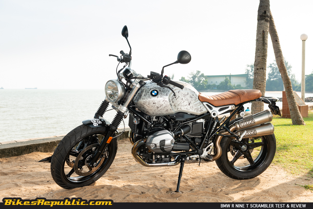 Peachy Bmw R Nine T Scrambler Test Review Pure Appeal Evergreenethics Interior Chair Design Evergreenethicsorg