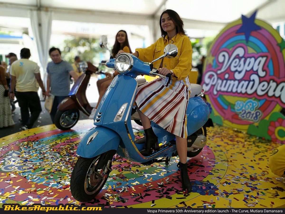 2019 Vespa Primavera 50th Anniversary launched! From RM16,300