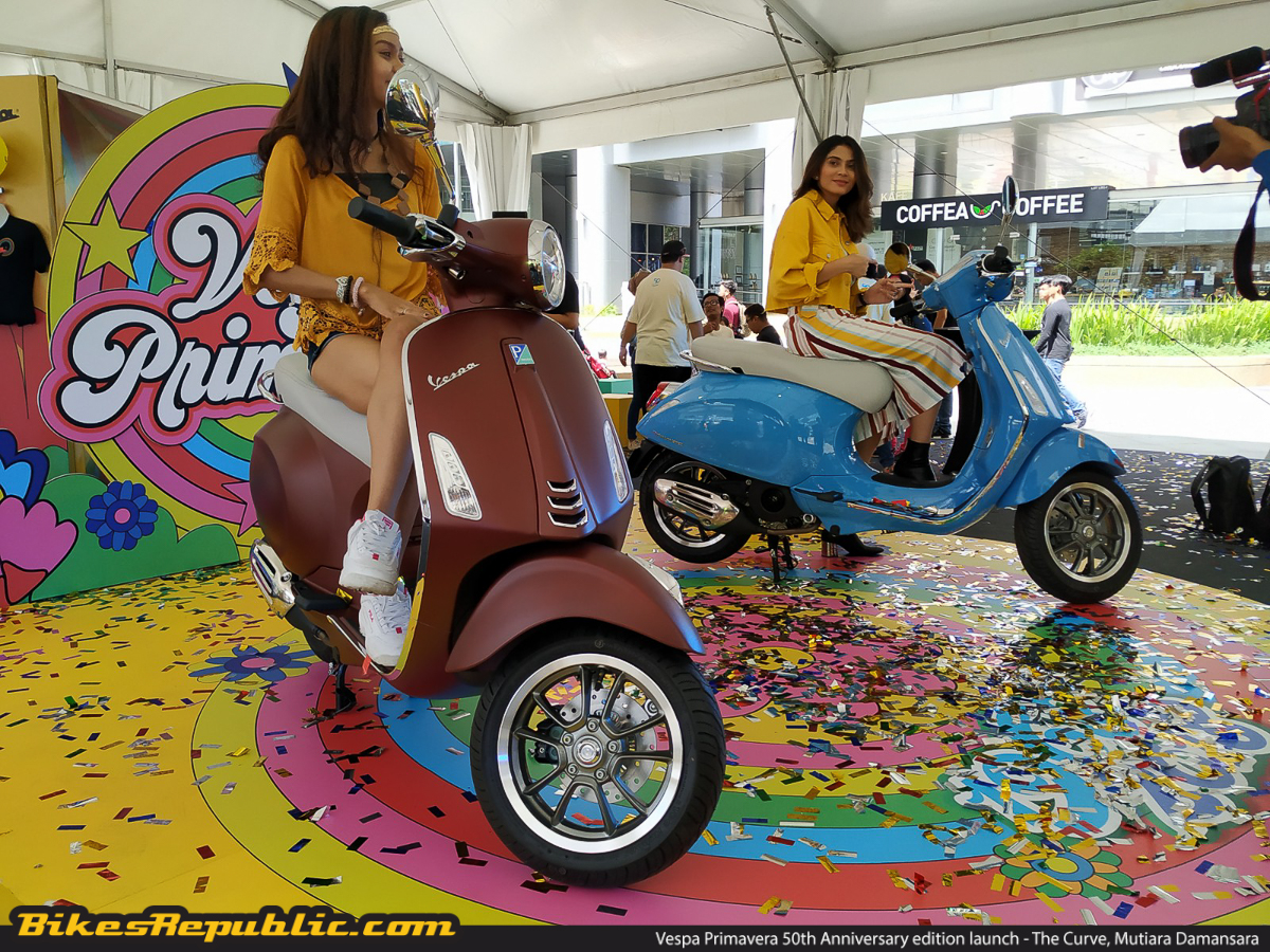 2019 Vespa Primavera 50th Anniversary launched! From RM16