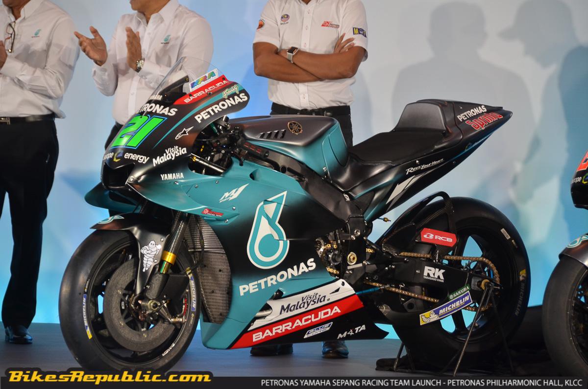 Petronas Yamaha Sepang Racing Team Malaysia S First Motogp Team Launched Bikesrepublic
