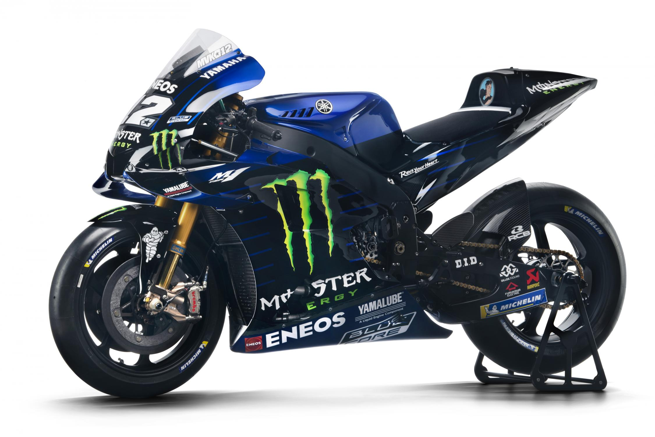 MotoGP 2019: Monster Energy Yamaha MotoGP 2019 Yamaha YZR-M1 Livery