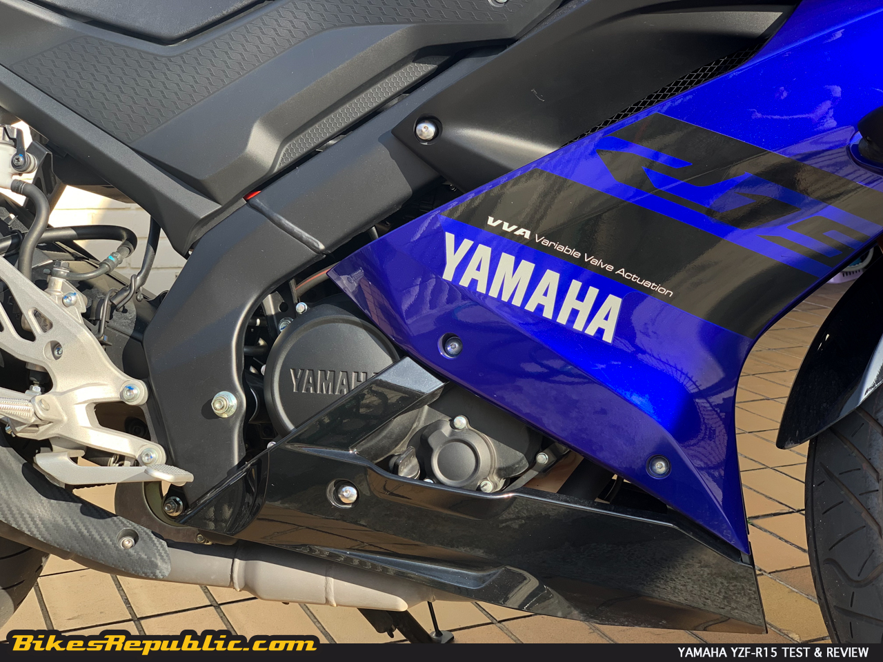 "Yamaha YZF-R15: Test & Review – ""Great stuff in a small package"