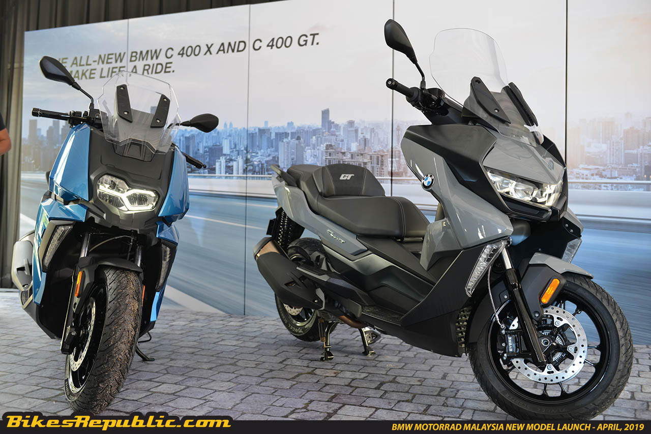 First Impression Video Bmw C400x C400gt And R1250rt