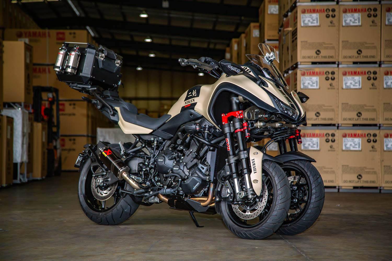 Yamaha Niken Not Funky Enough Lets Add A Turbo Bikesrepublic