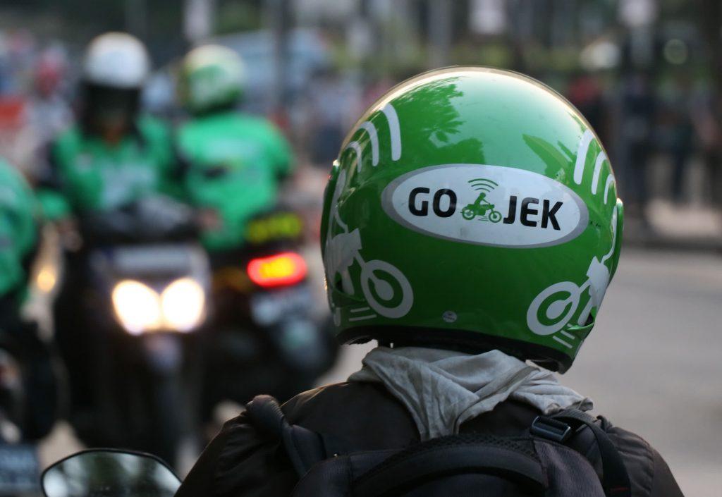 """U-turn"" For Go-Jek Motorcycle E-Hailing Service"
