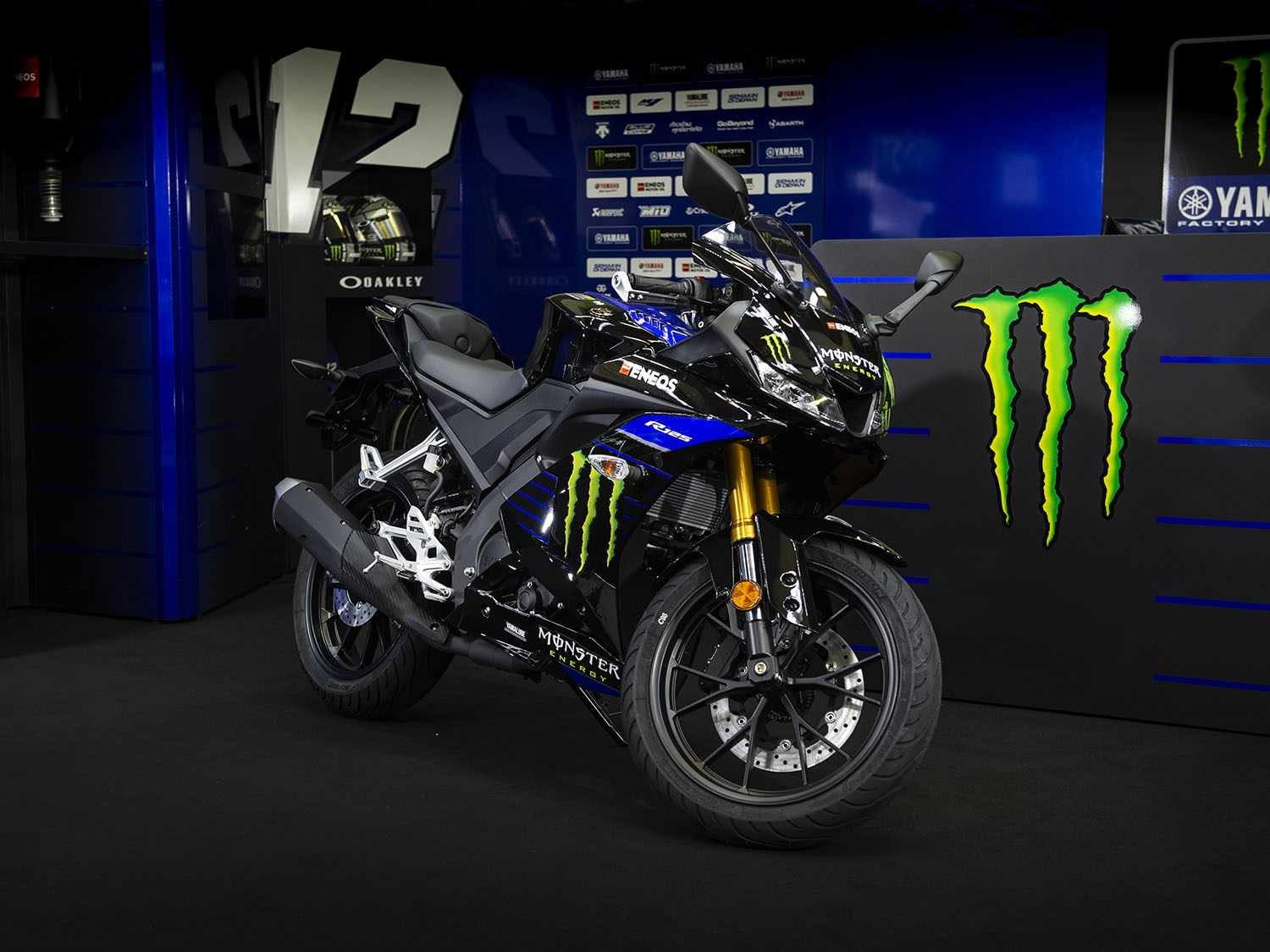 Yamaha Yzf R125 Monster Energy Motogp Edition Launched In The Uk