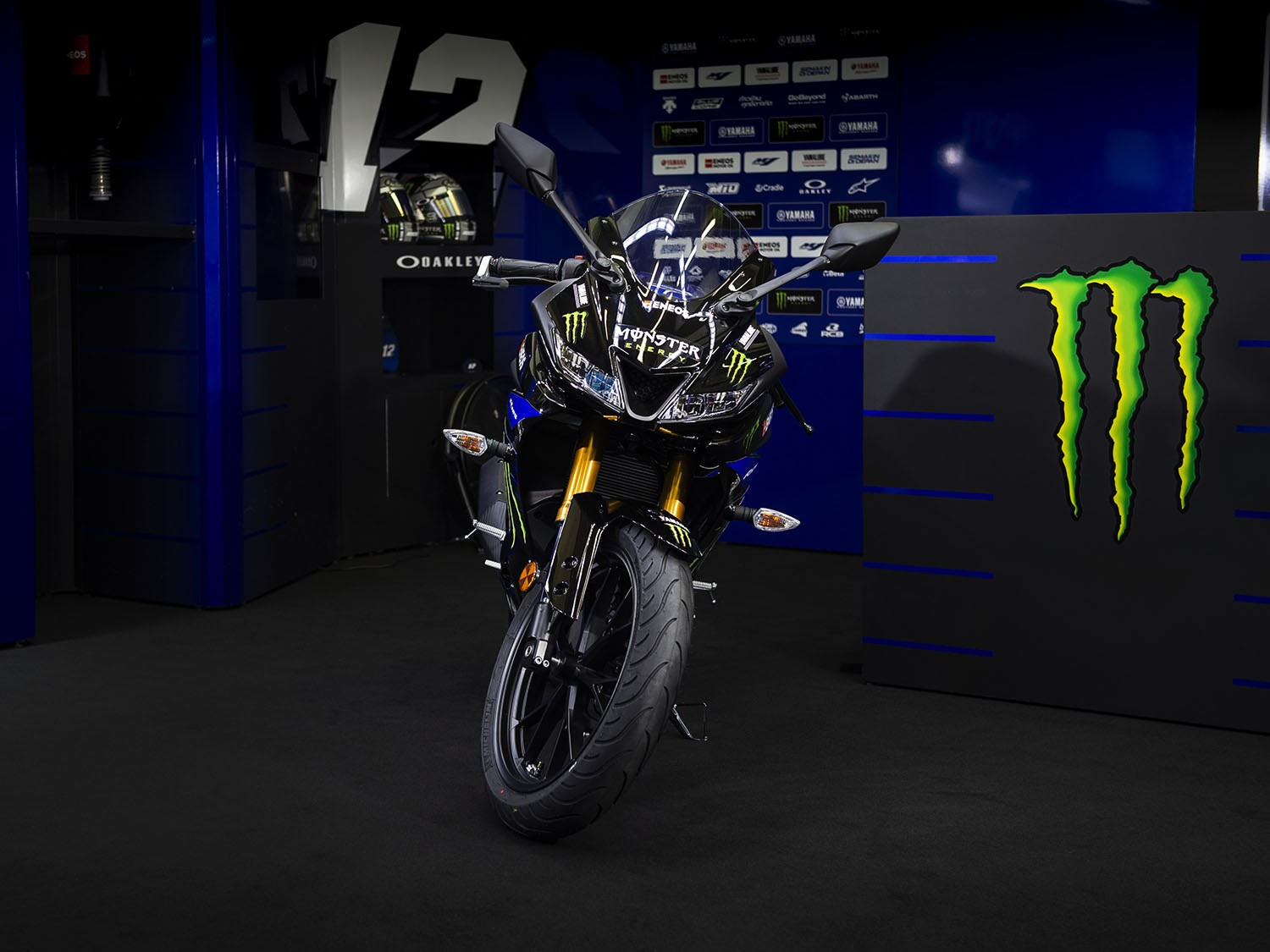 Yamaha Yzf R125 Monster Energy Motogp Edition Launched In