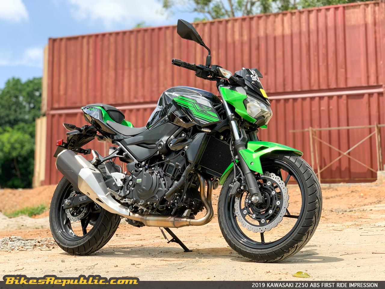 2019 Kawasaki Z250 Abs First Ride Review Bikesrepublic