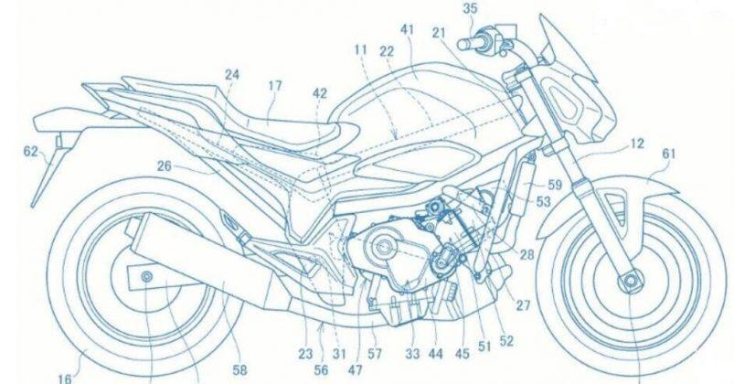Hondas 2018 big naked. More details emerge from teaser video