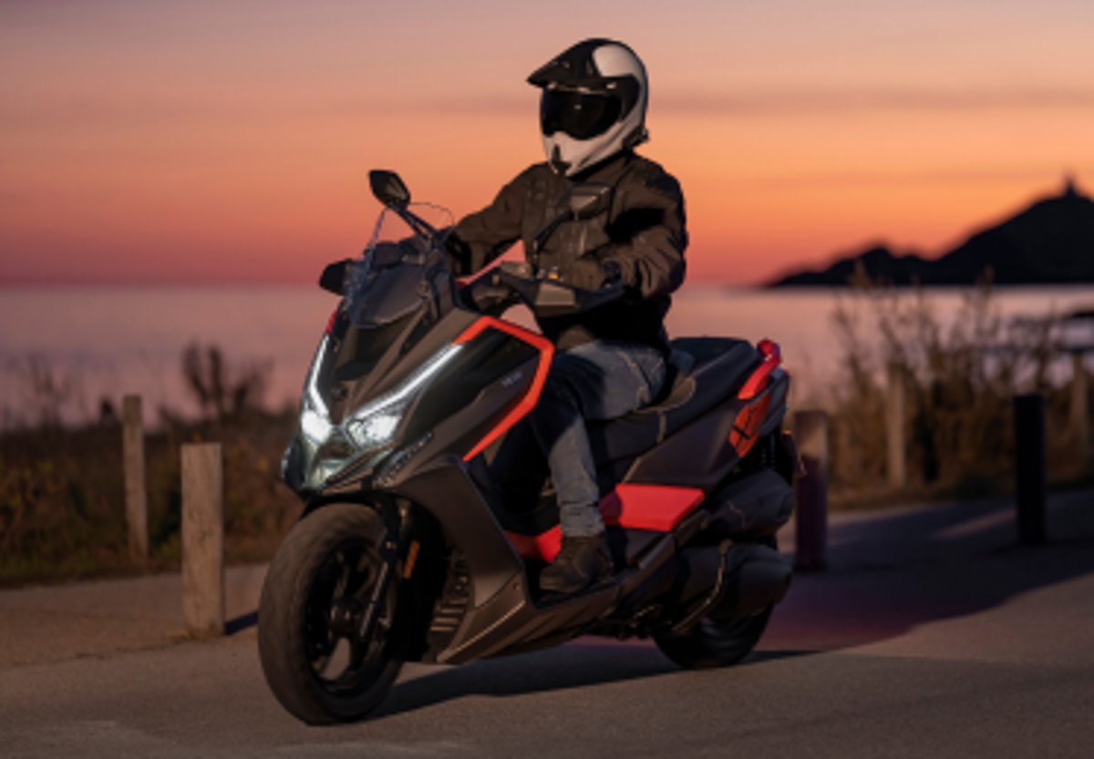 Kymco Has a New Adventure Scooter - The DT X360