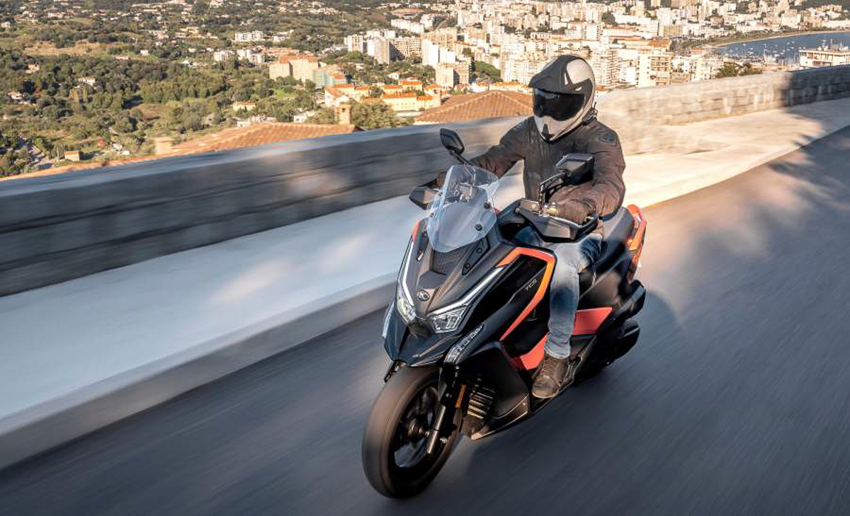 Kymco Introduces New DT X360 Adventure Scooter
