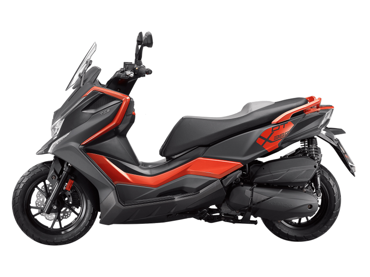DT X360, lo scooter adventure di Kymco - Motociclismo