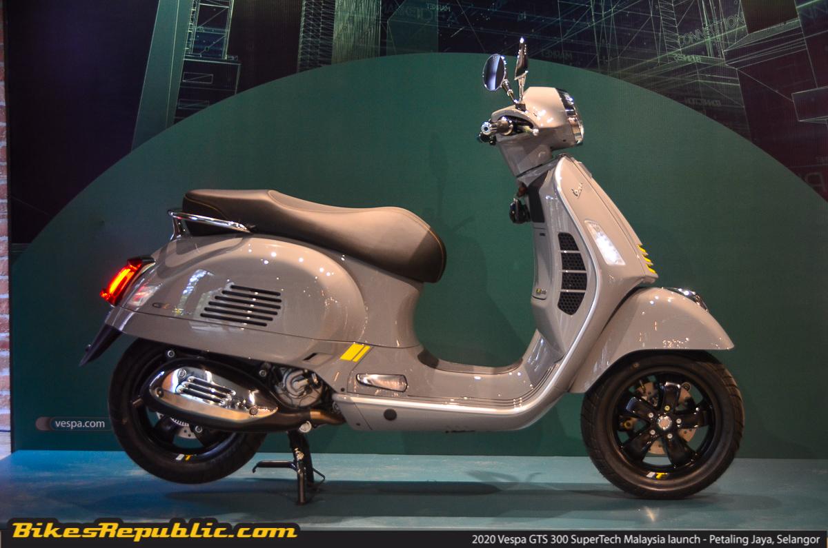 2020 Vespa Gts 300 Hpe Super Tech Arrives In Malaysia Rm33 300 Bikesrepublic